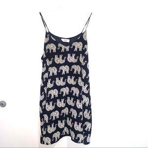 🌷5/$20 Peach Love Women's Navy Blue Dress